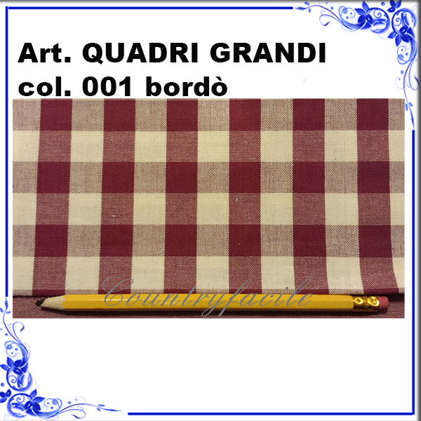 Quadri grandi color bordò