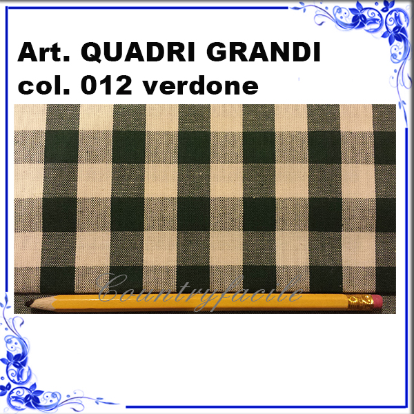 Quadri grandi color verdone