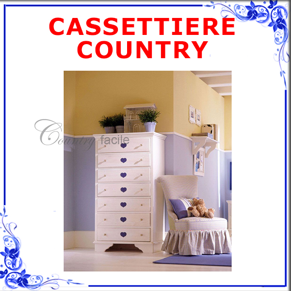 CASSETTIERE COUNTRY